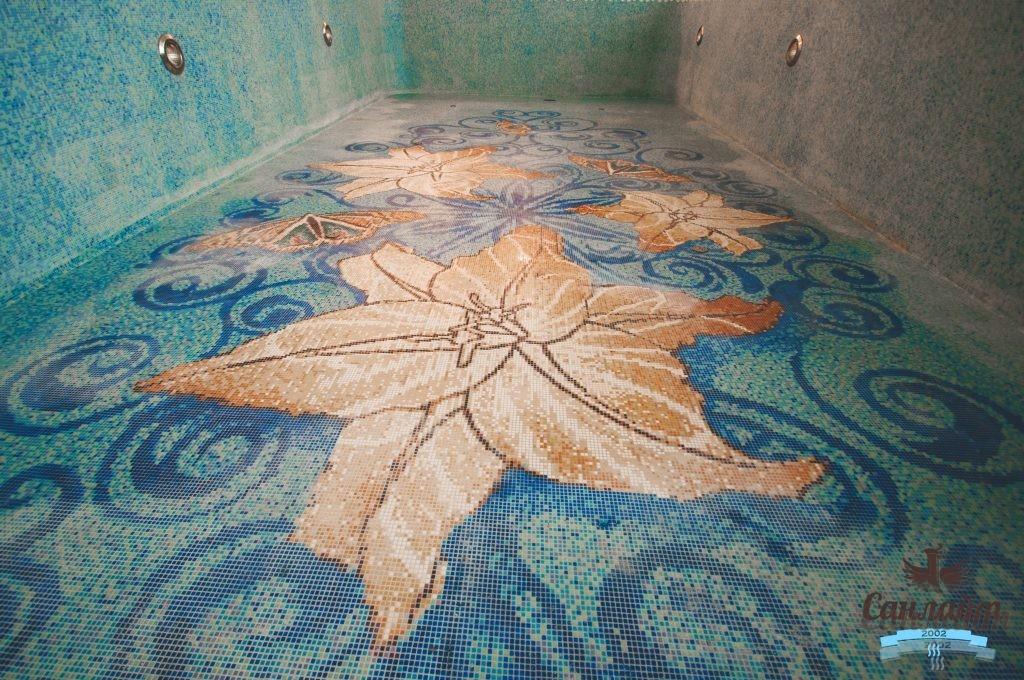 Виды мозаики для отделки бассейна