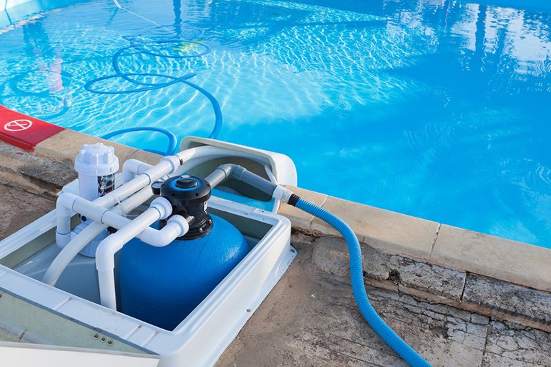 Виды фильтров для бассейна