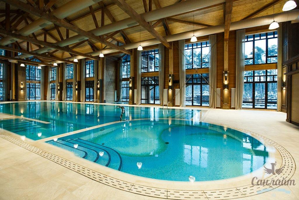 Строительство бассейна в частном доме