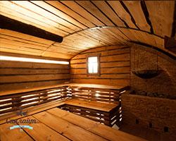 русская баня строительство фото
