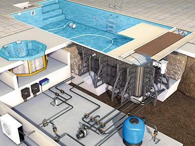 нормы проектирования бассейнов