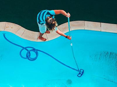 очистка бассейна без хлора фото