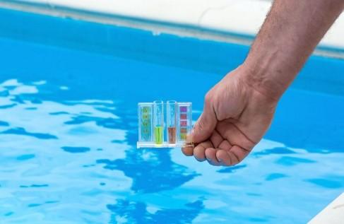 очистка бассейна перекисью фото