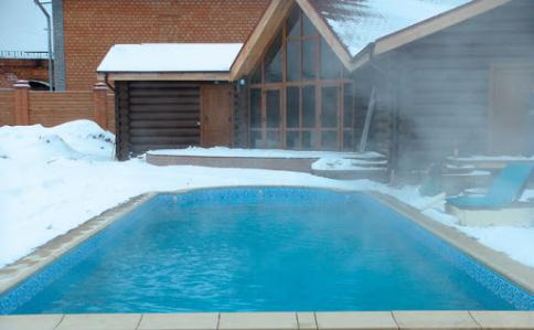 подготовка бассейна к зиме фото