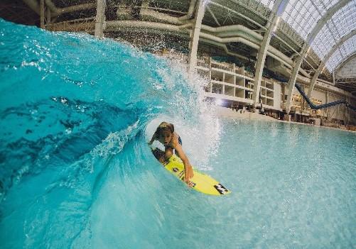 как делают волны в аквапарке фото