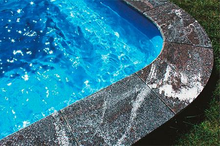 отделка бортика бассейна фото